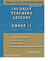 Easy Grammar Ultimate 11 - 180 Daily Teaching Lessons