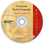 Trail Guide to World Geography - Student Notebook CD-ROM