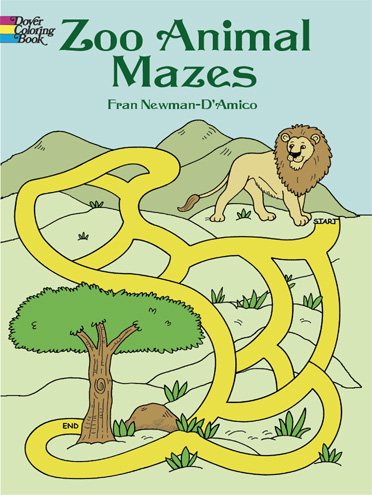 Zoo Animal Mazes (price includes US S&H)