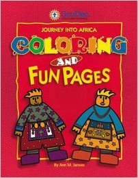 Journey Into Africa:Color Book (price includes US S&H)