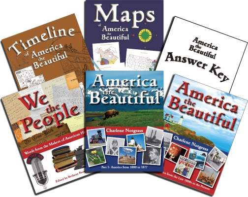 America the Beautiful Curriculum Set