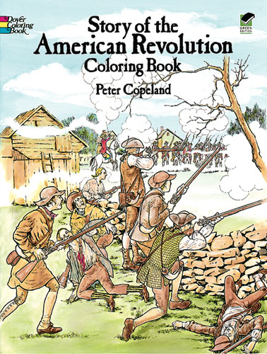 American Revolution Coloring (price includes US S&H)