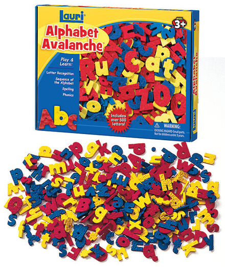 Alphabet Avalanche (price includes US S&H)