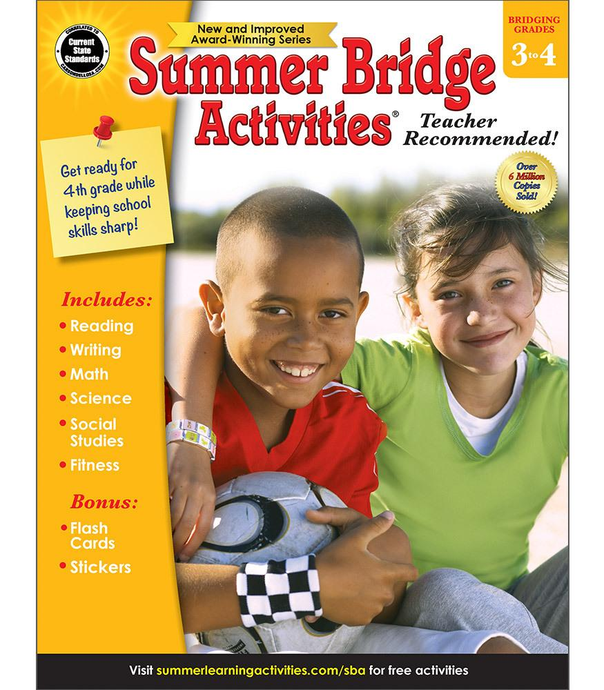 Summer Bridge Activites - Bridging Grades 3 to 4