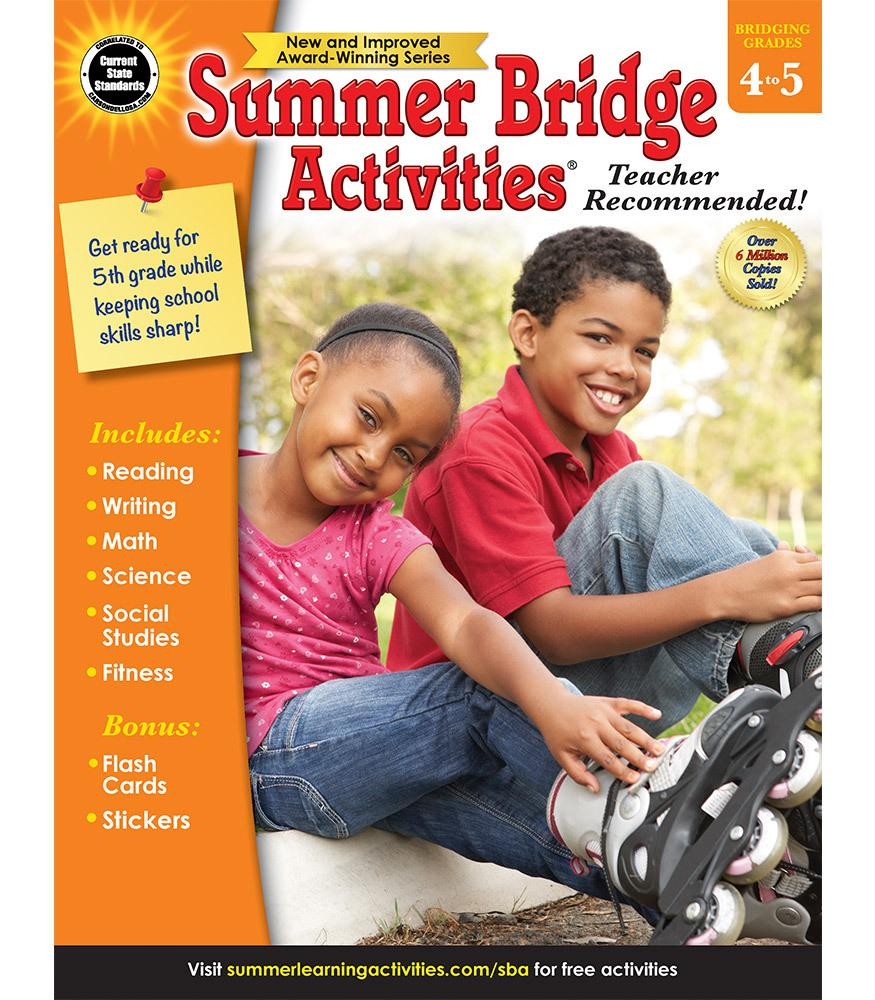 Summer Bridge Activites - Bridging Grades 4 to 5