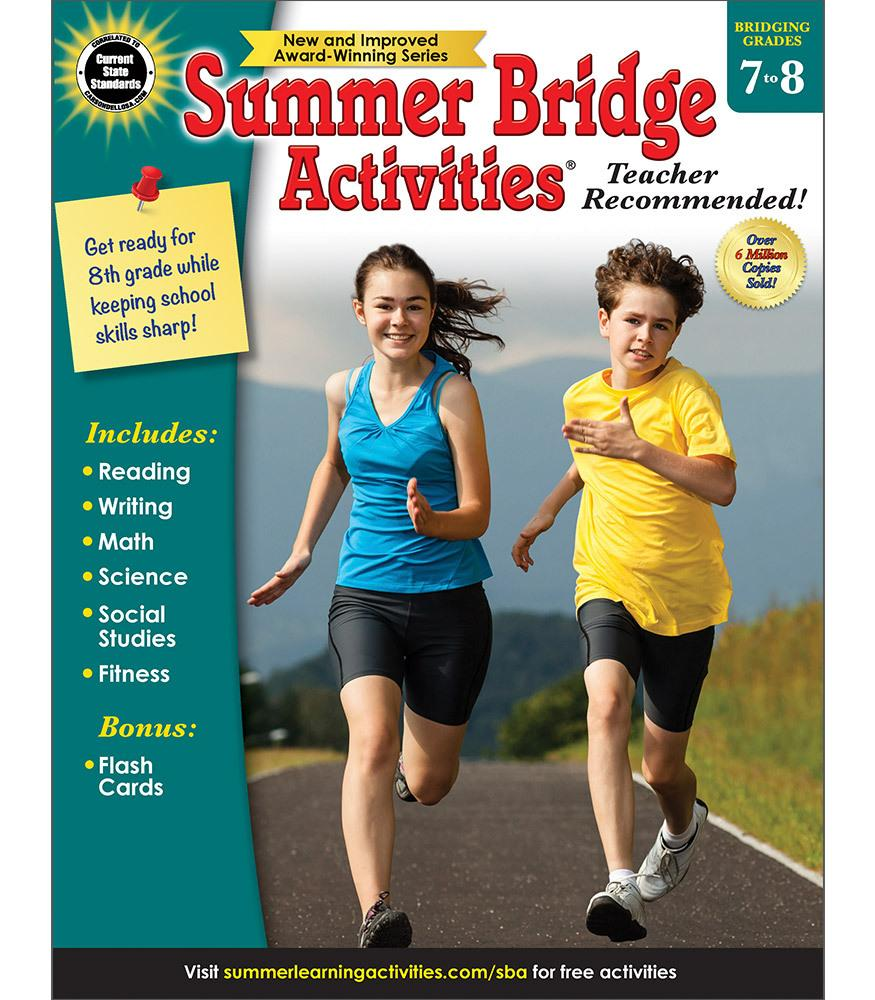 Summer Bridge Activites - Bridging Grades 7 to 8