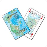 Playing Cards - World Maps (price includes US S&H)