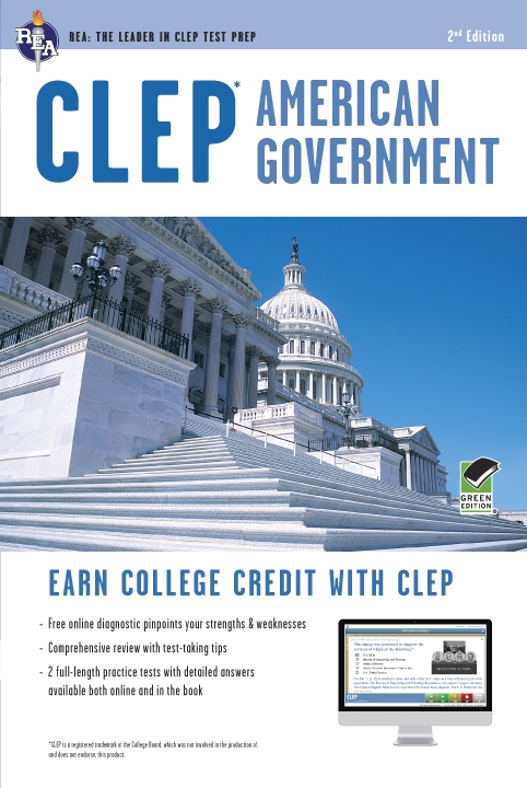 CLEP - American Government with Online Practice