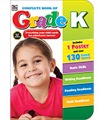 Complete Book of Kindergarten Workbook