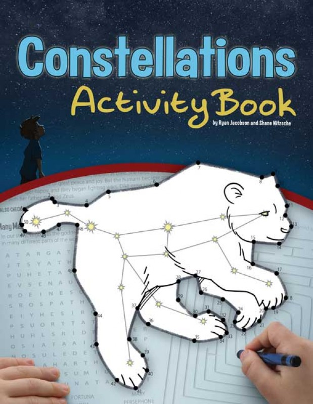 Constellations Activity Book (price includes US S&H)