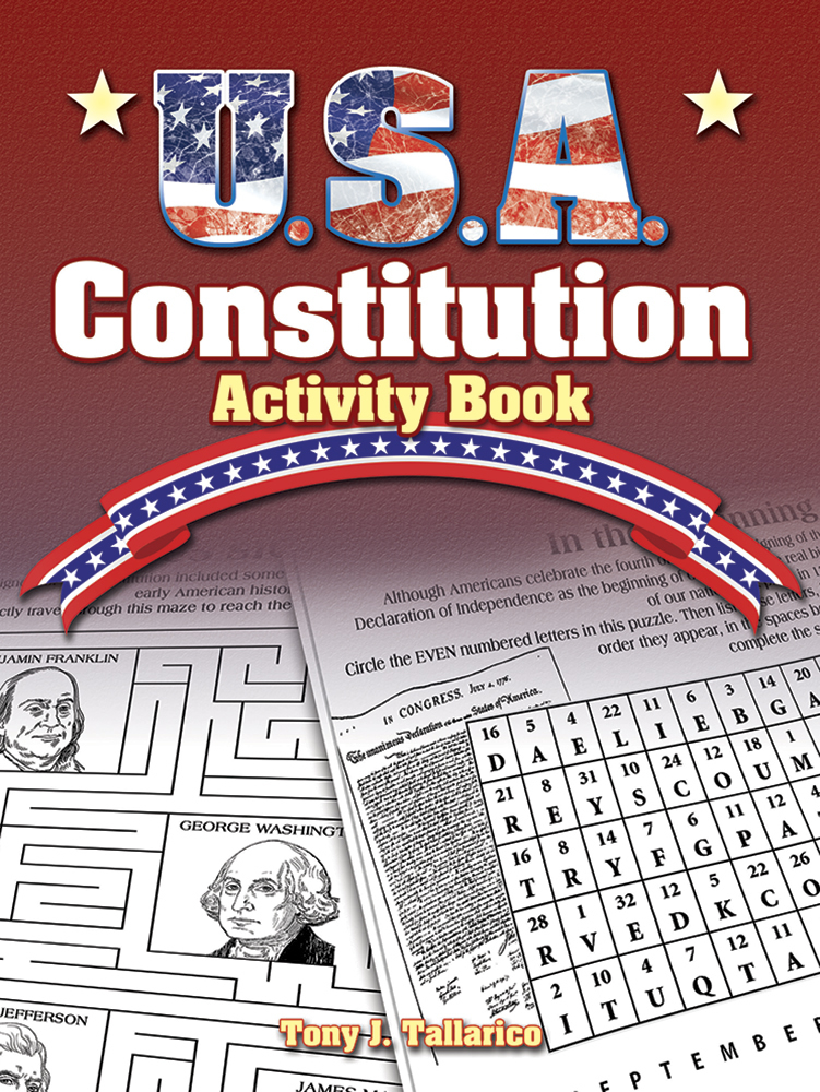 U.S.A. Constitution Activity (price includes US S&H)