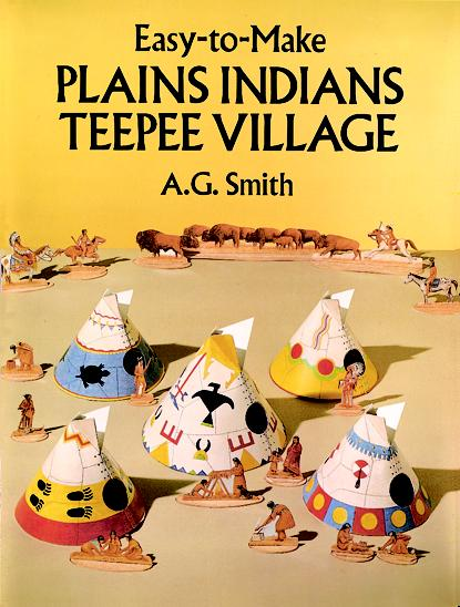 Easy-to-Make Indian Teepees (price includes US S&H)