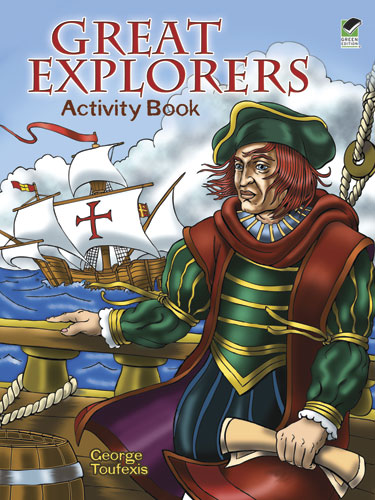 Great Explorers Activity Book (price includes US S&H)