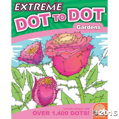 Extreme Dot to Dot: Gardens (price includes US S&H)