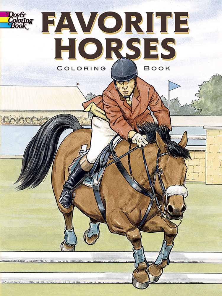 Favorite Horses Coloring Book (price includes US S&H)