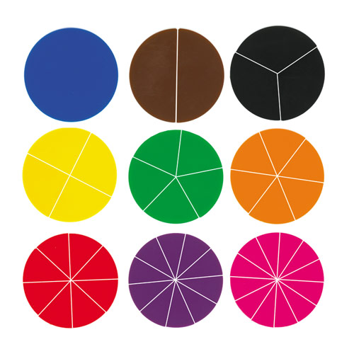 Fraction Circles (price includes US S&H)