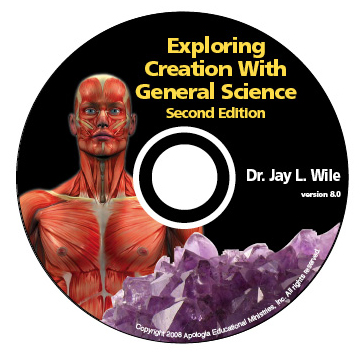 Exploring Creation with General Science - 2nd Complete Course CD