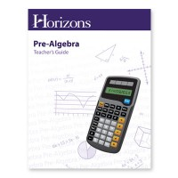 Horizons Pre-Algebra Teacher Guide