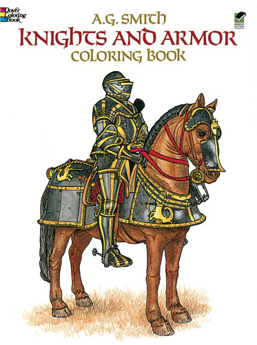 Knights & Armor Coloring Book (price includes US S&H)