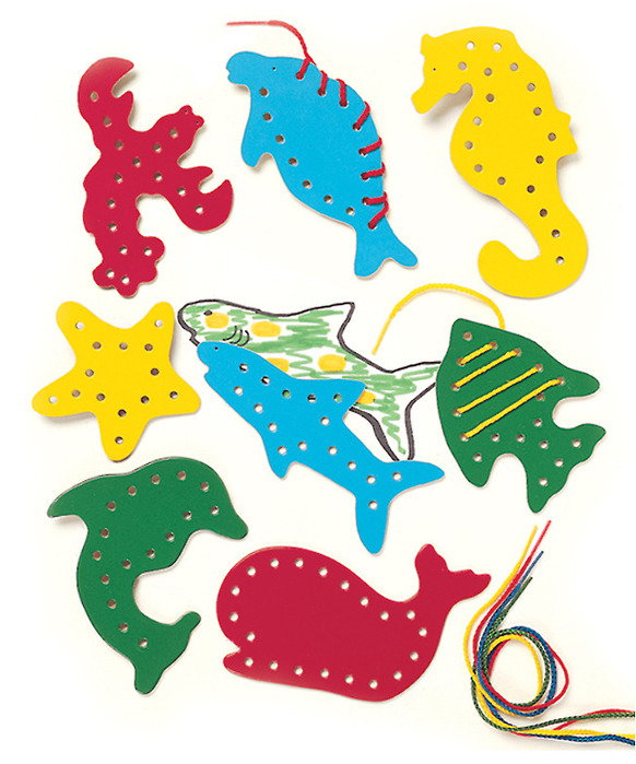 Lacing & Tracing: Sea Life (price includes US S&H)