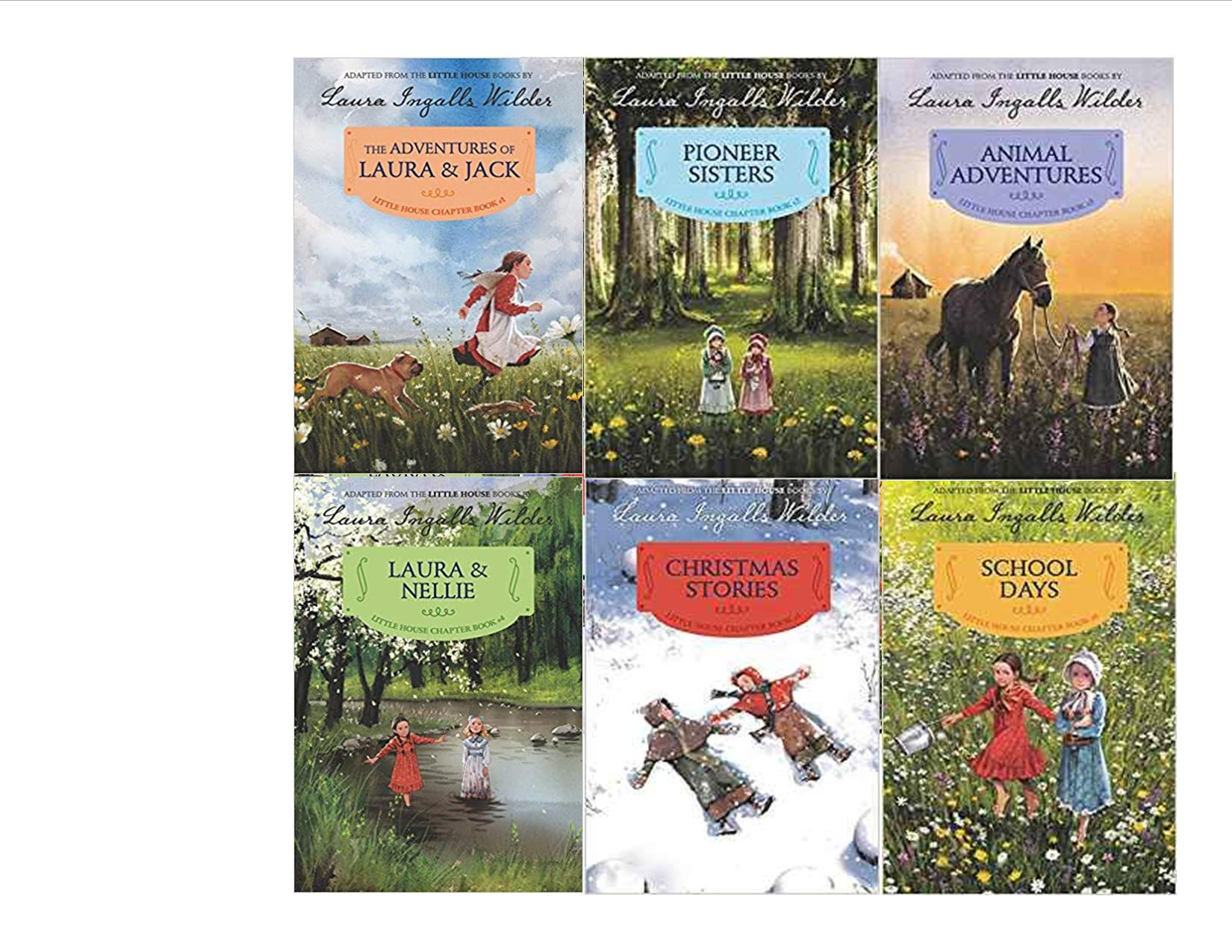 Little House Chapter Books Set