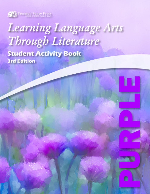 Learning Language Arts Through Literature - Purple Student Book