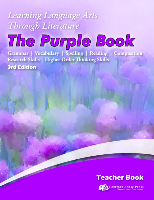 Learning Language Arts Through Literature - Purple Teacher