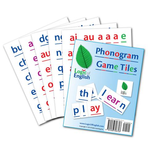 Logic of English Phonogram Game Tiles