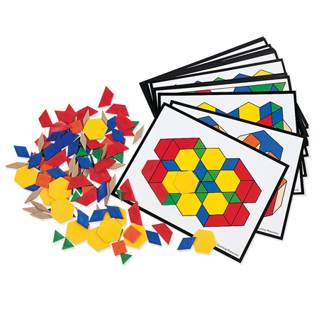 Pattern Block Activity Set (price includes US S&H)