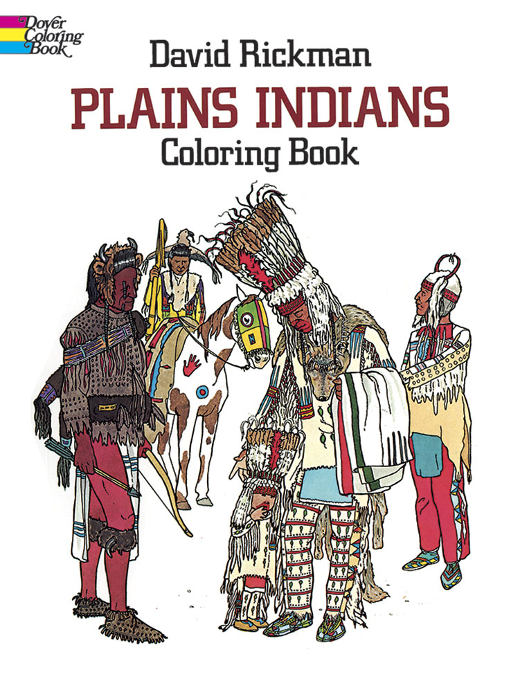 Plains Indians Coloring Book (price includes US S&H)