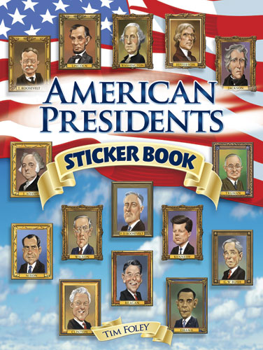 American Presidents Stickers (price includes US S&H)