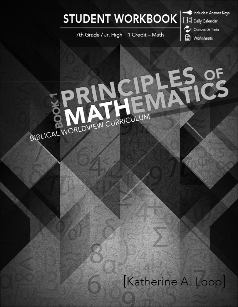 Principles of Mathematics - Book 1 Teacher Guide / Workbook