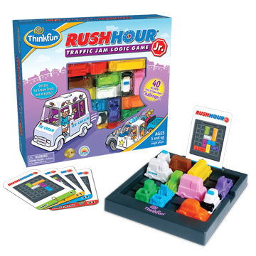 Rush Hour Jr Traffic Jam Game (price includes US S&H)