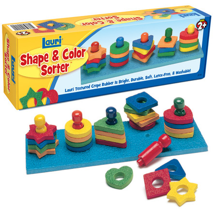Shape & Color Sorter (price includes US S&H)