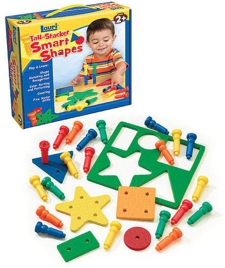 Smart Shapes & Stacking Pegs (price includes US S&H)