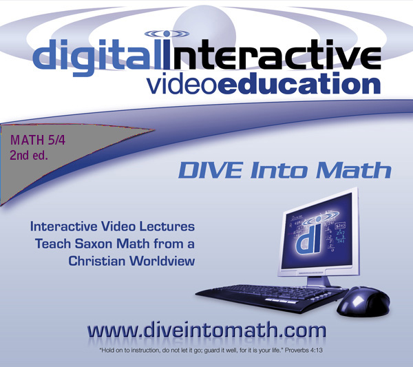 DIVE for Saxon Math 54 - 3rd edition
