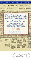 Declaration of Independence and Other Great Documents: of Americ