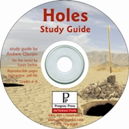 Holes Study Guide on CD-ROM