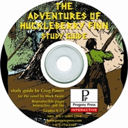 Adventures of Huckleberry Finn Study Guide on CD-ROM