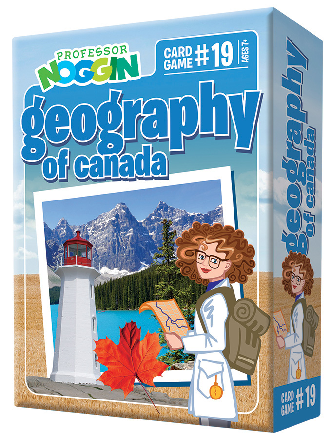 Prof Noggin - Geogr. Canada (price includes US S&H)