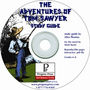 Adventures of Tom Sawyer Study Guide on CD-ROM