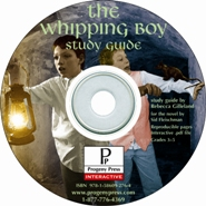 Whipping Boy Study Guide on CD-ROM