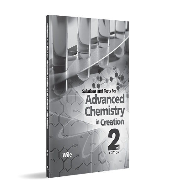 Advanced Chemistry in Creation Solutions