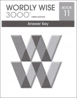 Wordly Wise 3000 Book 11, 3rd Edition - Answer Key