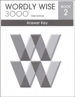 Wordly Wise 3000 Book 2, 3rd Edition - Answer Key