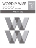 Wordly Wise 3000 Book 3, 3rd Edition - Answer Key
