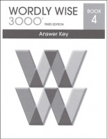 Wordly Wise 3000 Book 4, 3rd Edition - Answer Key