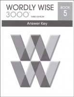 Wordly Wise 3000 Book 5, 3rd Edition - Answer Key