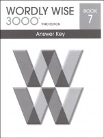 Wordly Wise 3000 Book 7, 3rd Edition - Answer Key