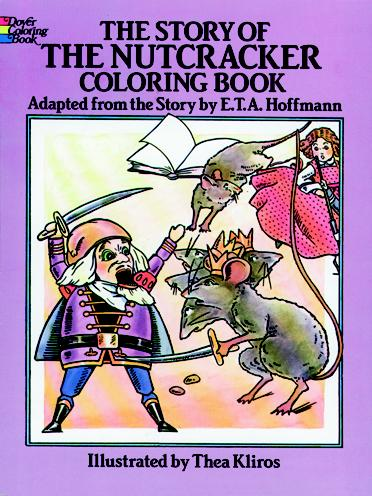 Nutcracker Story Color Book (price includes US S&H)